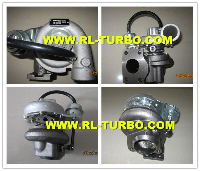 Turbocharger Used For: Turbocharger GT2052S, 2674A373, 2674A095, 7727264-0003