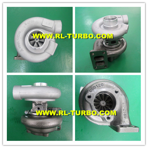 Turbo TE06H-16M 49185-01020 4918501020 ME088840 for KOBELCO SK200-5 with 6D34T